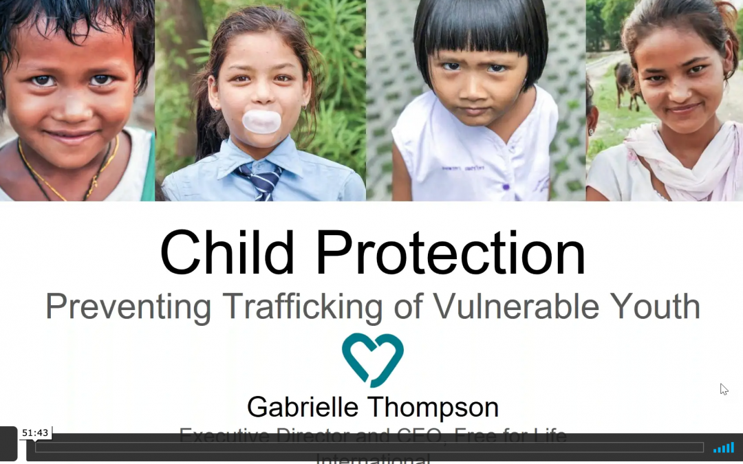 Child Protection: Preventing Trafficking of Vulnerable Youth