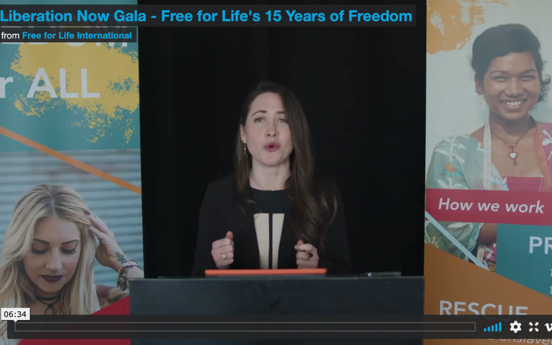 Liberation Now Gala: Free for Life's 15 Years of Freedom